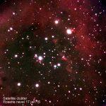 Satellite cluster, Rossette nevel